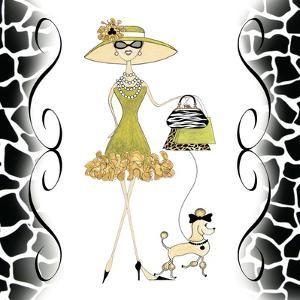 Poosh Poodle Gal by Stacey Hagerman