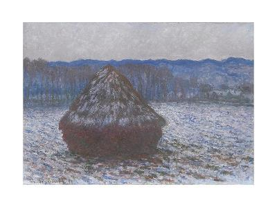 Stack of Wheat, 1890-91-Claude Monet-Giclee Print