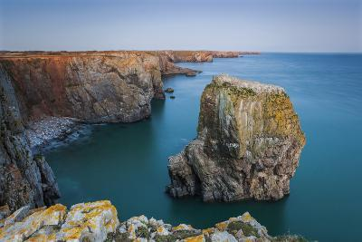 Stack Rocks, Castlemartin, Pembrokeshire, Wales, United Kingdom-Billy Stock-Photographic Print