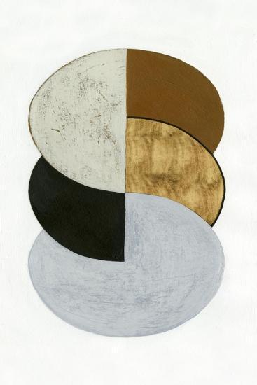 Stacked Coins I-Grace Popp-Art Print