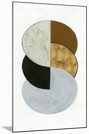 Stacked Coins I-Grace Popp-Mounted Art Print