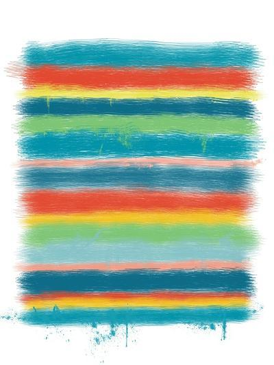 Stacked Colors One-Jan Weiss-Art Print