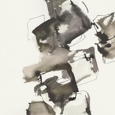 Stacked I Greige-Chris Paschke-Art Print