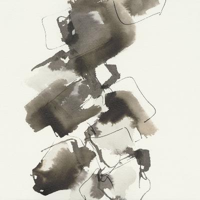 Stacked II Greige-Chris Paschke-Art Print