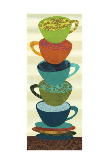 Stacking Cups I-Jeni Lee-Premium Giclee Print