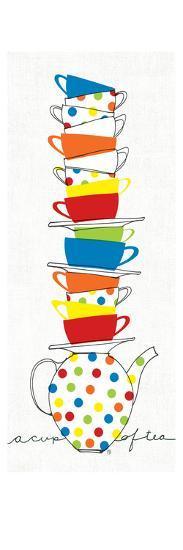 Stacks of Cups I-Avery Tillmon-Art Print