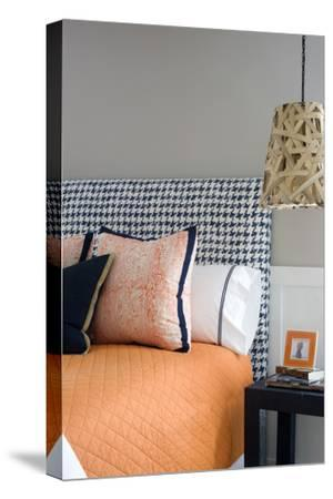 Double Bed with Pendant Lights