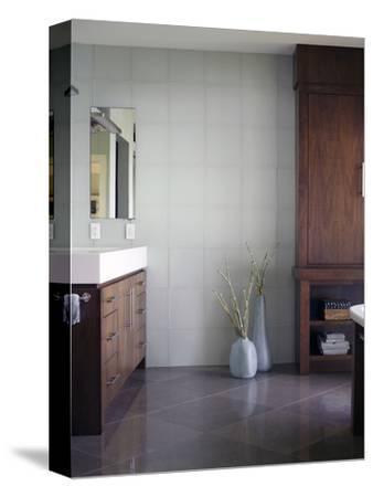 Washbasin on Drawer Unit in a Bathroom
