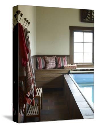 Weekend House Indoor Lap Pool, Usa