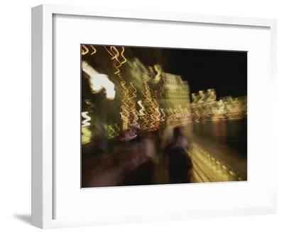 A Long Exposure Captures the Las Vegas Night Lights