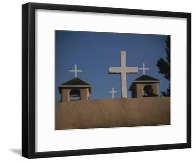 Crosses Decorate the 18th-Century San Francisco De Asis Mission