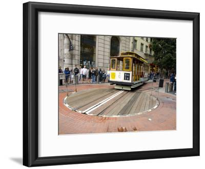 Famous Trolley in San Francisco, California