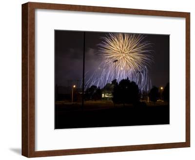 Fireworks over Beaver Stadium, Pennsylvania