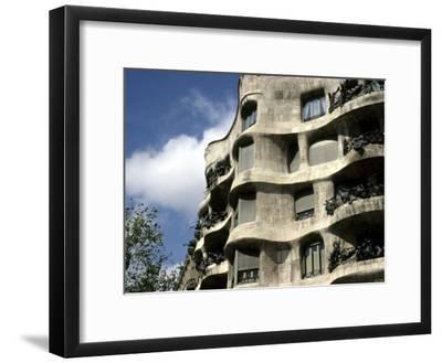 Gaudi Designed Apartment Building in Barcelona, Casa Mila, Barcelona, Spain, Europe