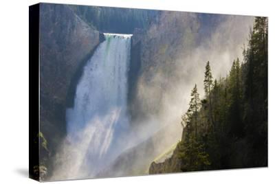 Scenic View of Yellowstone Falls