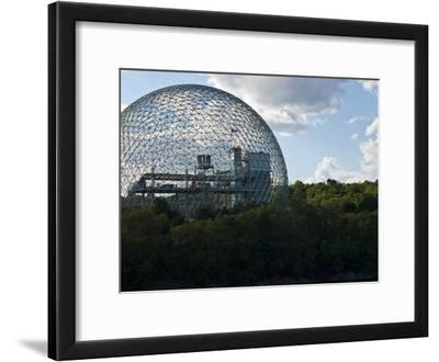The Expo 1967 Geodesic Dome, Now Called the Biosphere Is in Canada