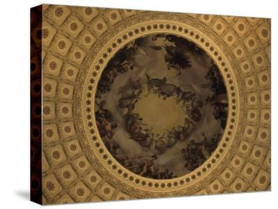 The Interior Dome of the Capitol Building in Washington, D.C., District of Columbia, United States