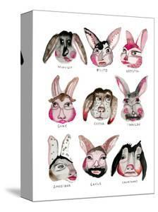 Fluffle of Rabbits by Stacy Milrany