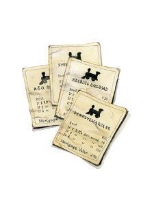 Monopoly Railroads by Stacy Milrany