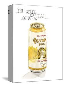 Olympia Beer by Stacy Milrany