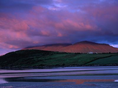 Stadbally and Bernoskee Mountains Seen from Clogbane, Dingle, Ireland-Gareth McCormack-Photographic Print
