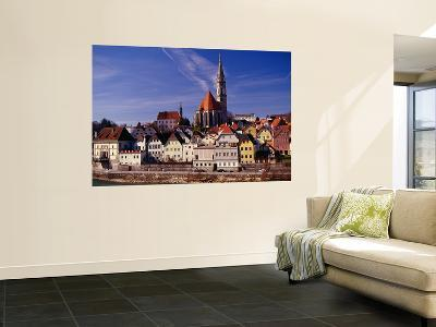 Stadtpfarrkirche (Parish Church) and Town on Enns River, Steyr-Witold Skrypczak-Wall Mural