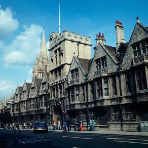 A view of Brasenose college in Oxford, 1973 by Staff