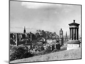 A view of Edinburgh showing the Castle, June 1947 by Staff