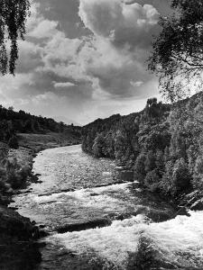A view of the river Tummel 1946 by Staff