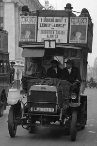 Commuters During Strike Action 1926 by Staff