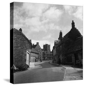 Corfe Castle Village by Staff