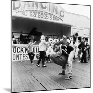 Couple Dancing to Bill Gregory's Band. August 1958 by Staff