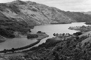 General View of Loch Lomond in Central Scotland. Circa 1952 by Staff