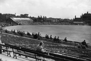 Headingley, the Ground of Yorkshire Cricket Club in Leeds.. C.1935 by Staff