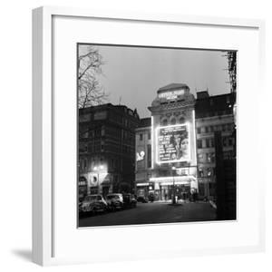 Leicester Square Theatre in London's West End. April 1958 by Staff