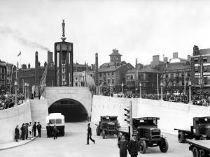 Mersey Tunnel Opening, Liverpool, July 1934 by Staff