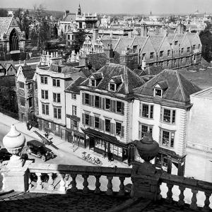 Oxford Rooftops, Circa 1935 by Staff
