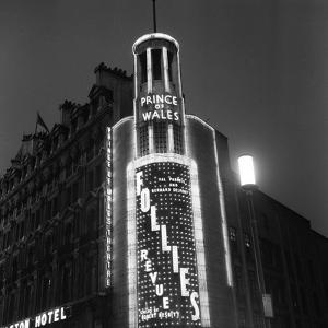 Prince of Wales Theatre 1958 by Staff