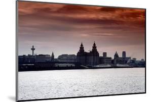 Skyline of Liverpool, 1979 by Staff