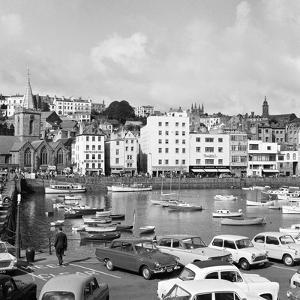 St Peter Port Harbour on the Island of Guernsey 1965 by Staff