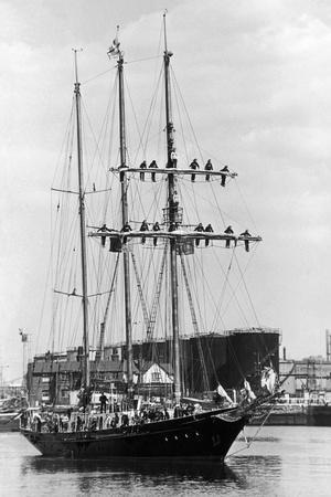 The Winston Churchill Ship 1973
