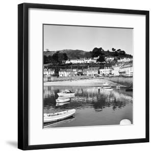 View of Gorey Harbour on the Island of Jersey, 1965 by Staff