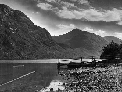 View of the hills overlooking Loch Shiel and the Glen 29/08/1946