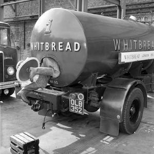 Whitbread brewery 1958 by Staff
