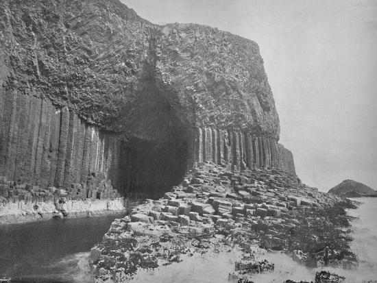 'Staffa - Fingal's Cave', 1895-Unknown-Photographic Print
