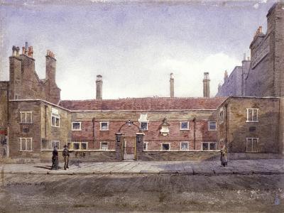 Stafford Alms Houses, Gray's Inn Road, London, 1882-John Crowther-Giclee Print