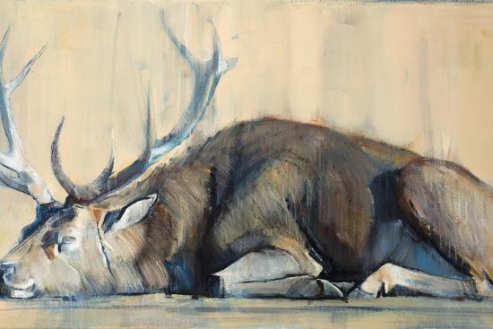 Stag, 2014-Mark Adlington-Giclee Print