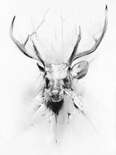 Stag-Alexis Marcou-Art Print