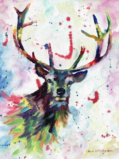 Stag-Sarah Stribbling-Art Print