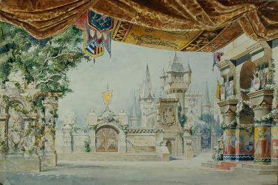 Stage Design for the Ballet Raimonda by A. Glazunov, 1899-Konstantin Matveevich Ivanov-Giclee Print